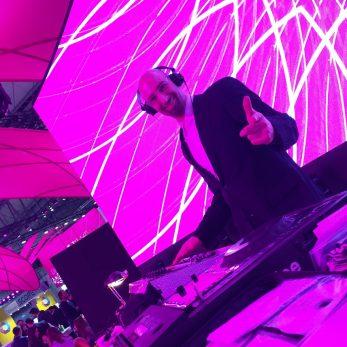 DJ Vince legt auf