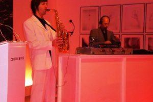 DJ Plus Saxophon, DJ mit Saxophon, für Hochzeit, Messe, Incentive, Lounge, Event, Köln, Düsseldorf, NRW buchen
