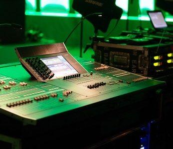 Tontechnik: Lichtmischpult