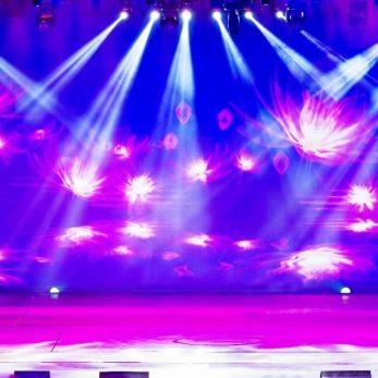 Live VJing Lichtshow