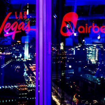 Las Vegas Lounge von Air Berlin