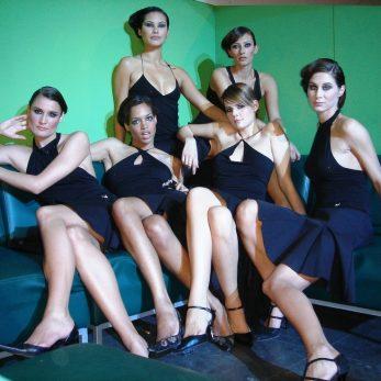 Ladys als Bestandteil des Showkonzepts von DJ Vince
