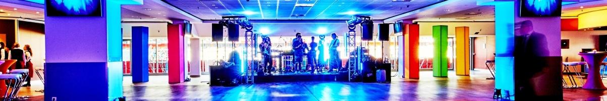 Probebühne des DJ-Vince-Teams