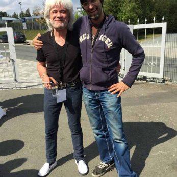 DJ Vince meets Wolfgang Schmid