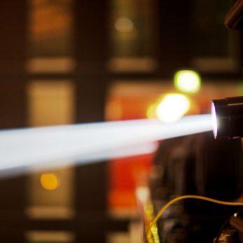 Projektor-Licht