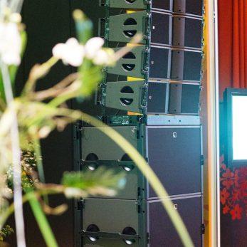 Professionelle, Tontechnik: Lautsprecherboxen