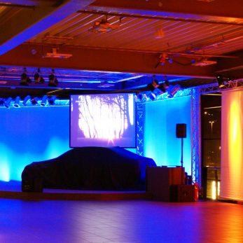 Veranstaltungstechnik für Autohäuser