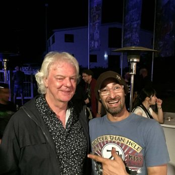 DJ Vince meets Neil Murray