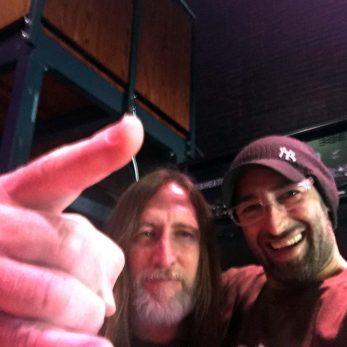 DJ Vince meets Scott Reeder